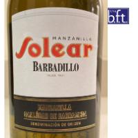 """Barbadillo """"Solear"""" Manzanilla"""