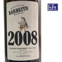 Barbeito Single Harvest 2008 - Tinta Negra – Medium Dry