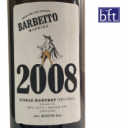 Barbeito Single Harvest 2008 - Tinta Negra – Medium Dry