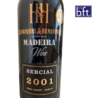 Henriques & Henriques Single Harvest Sercial 2001